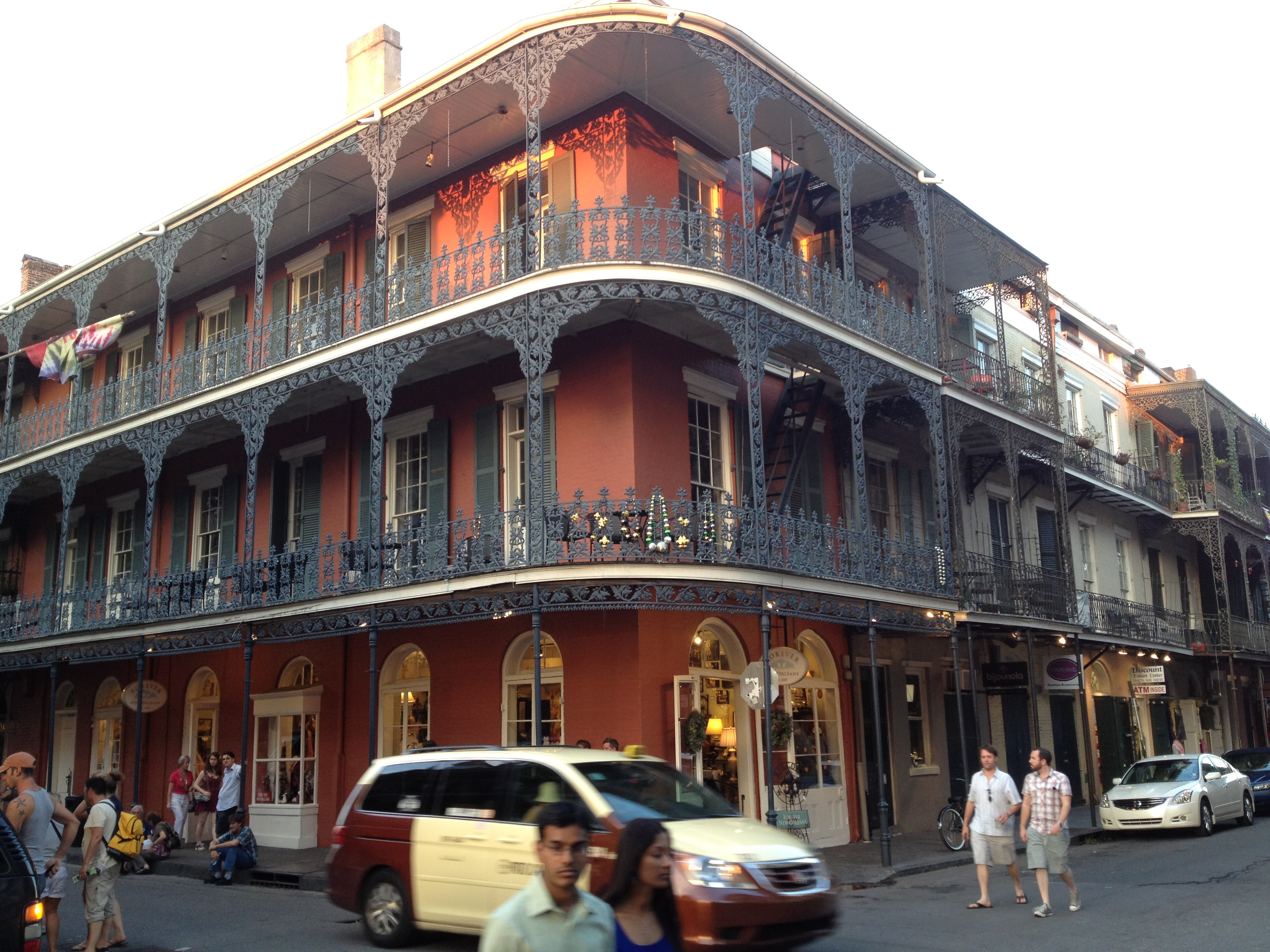 New Orleans, architecture, French Quarter