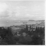 View from near Dan's grandparents' house in Astoria, Oregon (unknown date -- guessing 1950s)