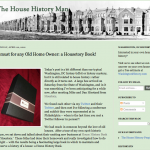 APRIL 2012: This was our very first review of The Home History Book, written by DC house historian Paul Williams. We had a chance to meet Paul in March, and his review was very kind!