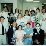 The final product: An office Halloween memory and photo digitally archived by the Flip-Pal