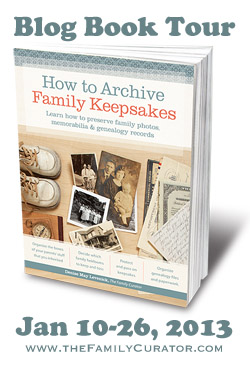 Denise Levenick, The Family Curator, Houstory, Heirloom Registry, family history, family heirlooms, family keepsakes