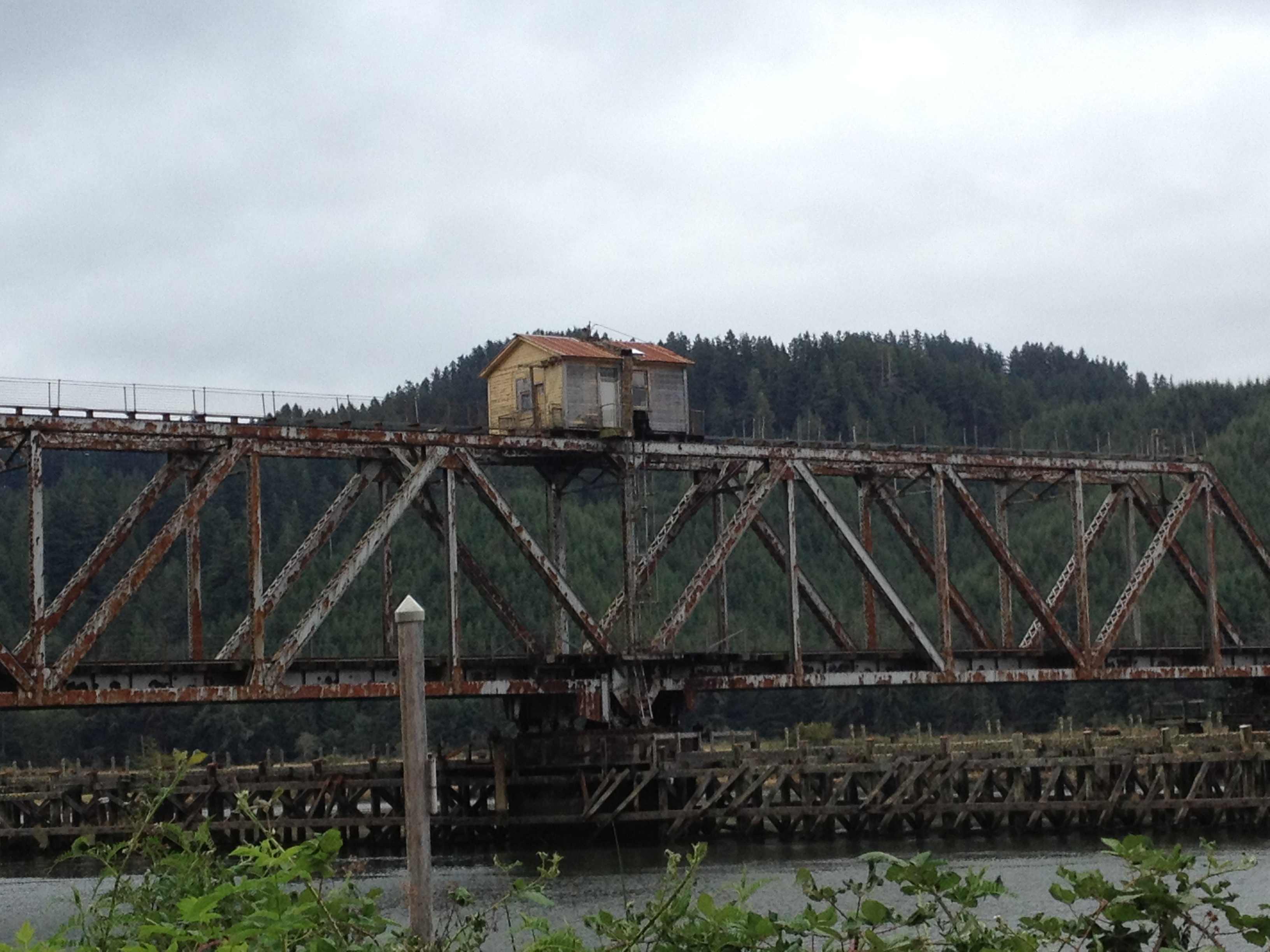 house history, oregon, siuslaw, swing bridge