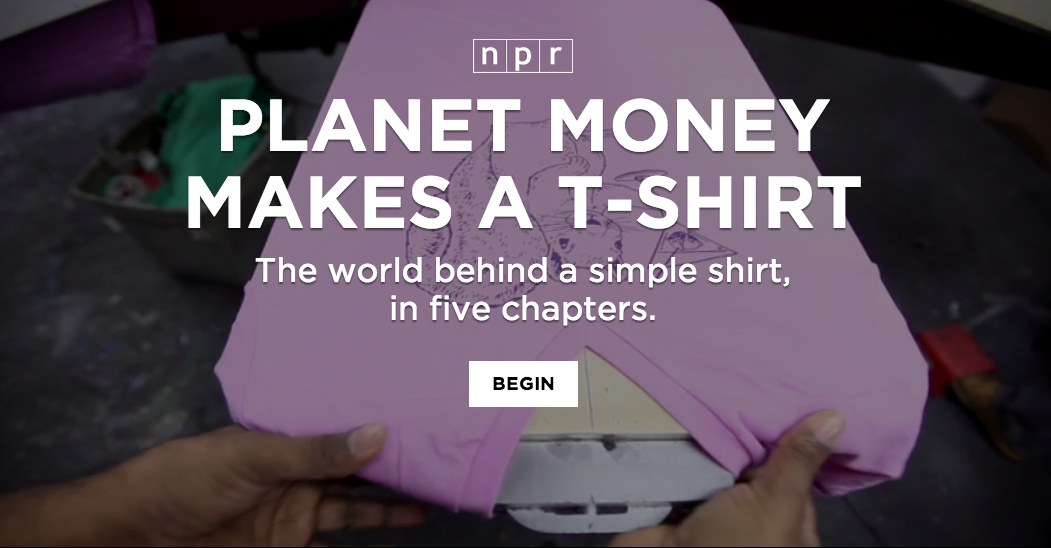 Planet Money, T-Shirt, NPR, Houstory