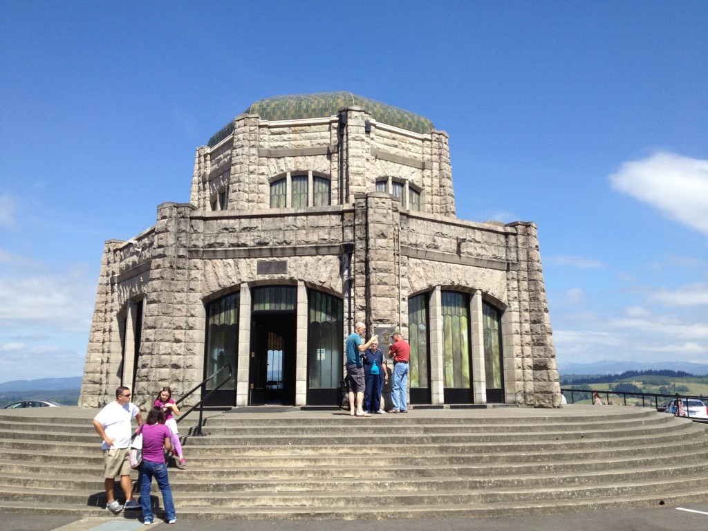 Vista House, Columbia River, Oregon, historic house