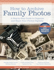 archive family photos, family curator, houstory, family tree magazine
