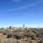 "View of the ""Outhouse Resort"" homestead from afar..."
